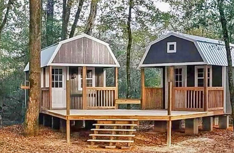 The 'We-Shed' Is a Dual Shed For Him and Her In Agnes
